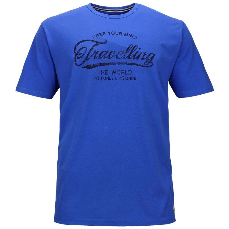 Kitaro T-Shirts Überlänge, blau