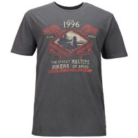 Kitaro T-Shirt extra lang - Road Rebels - grau 001