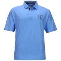 Redfield Poloshirt in Übergröße - Nautical Supply - blau 001