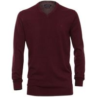 Casa Moda Pullover extra lang - weinrot 001