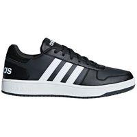 adidas Sneaker Übergröße - Hoops 2.0 - schwarz 001