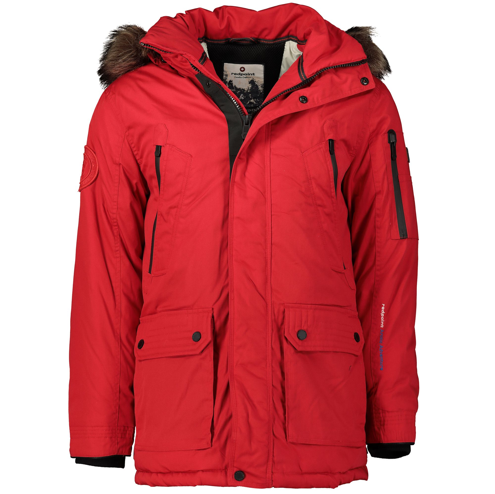 check out e5cc0 01842 Redpoint Winter Parka extra lang - rot