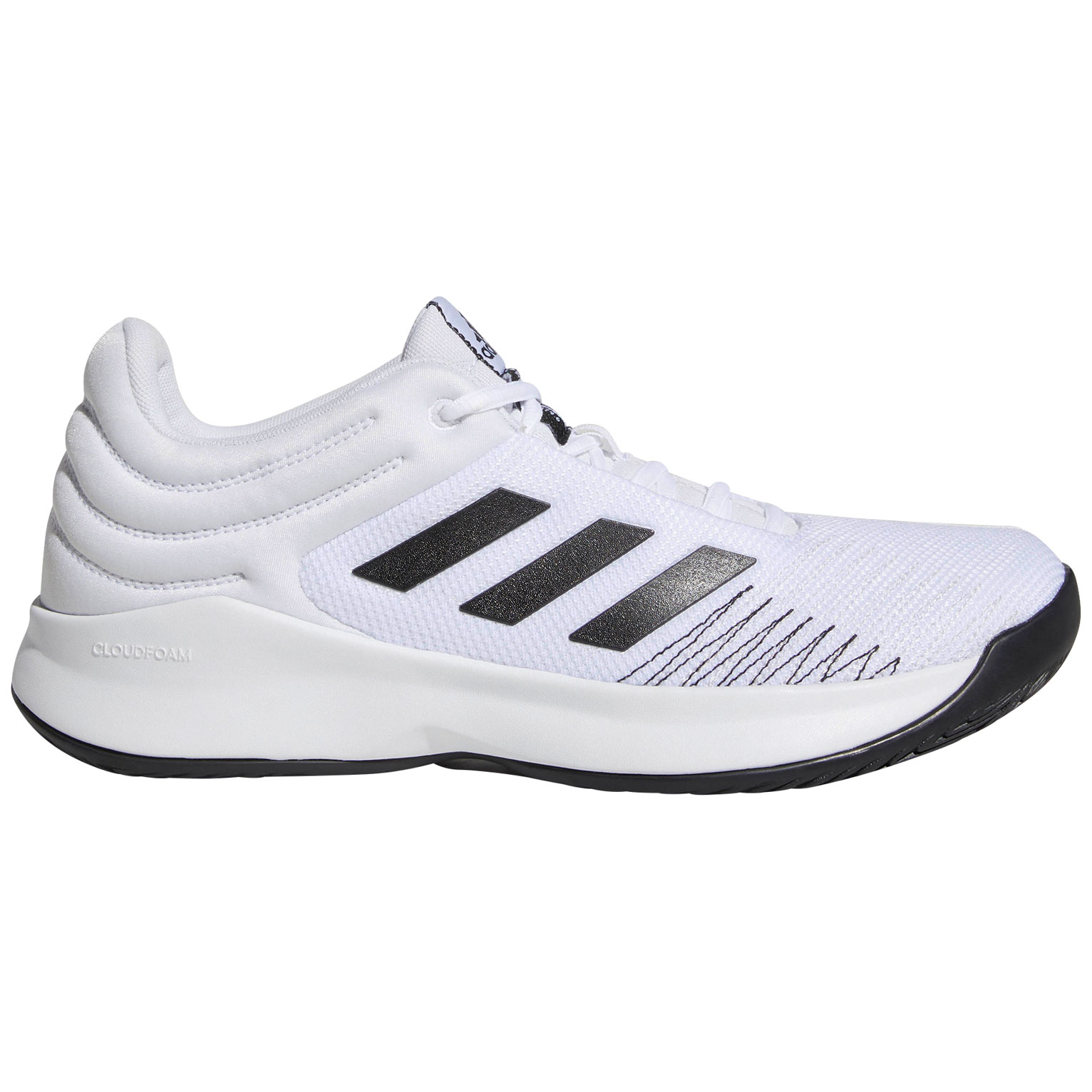 Sparks 2018 Basketballschuh Low Weiß Adidas Pro Übergröße In nvOmNw80
