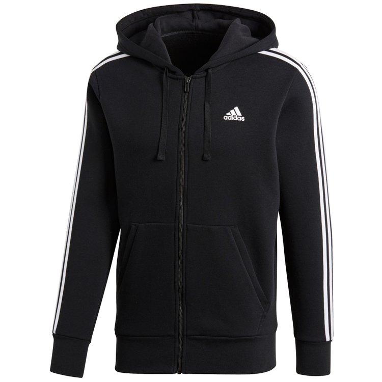 adidas Sweatjacke extra lang - schwarz