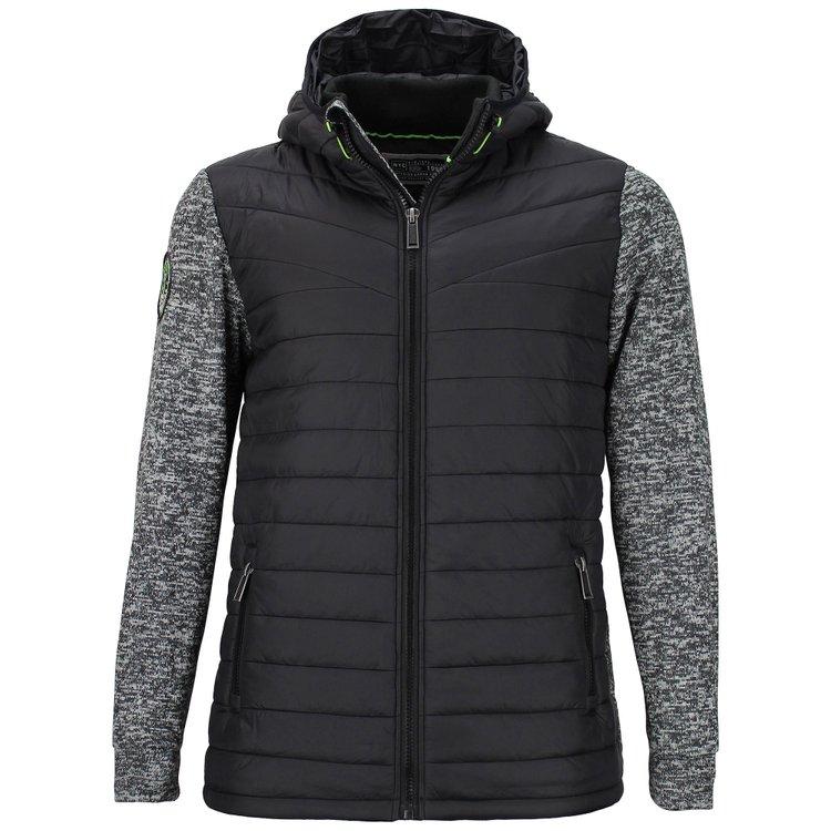 Jacke extra lang - schwarz