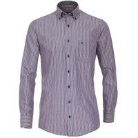 Casa Moda Freizeithemd in Übergrößen - blau gestreift 001
