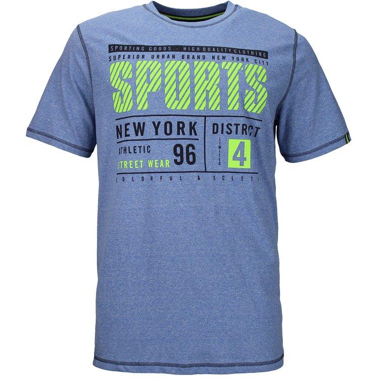 Kitaro T-Shirt extra lang - blau