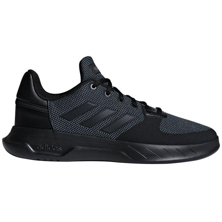 adidas Basketballschuh in Übergröße - Fusion Flow - schwarz