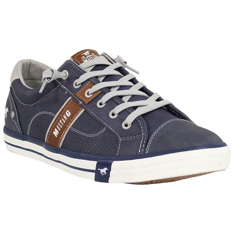 Herren-Sneaker Übergröße, blau