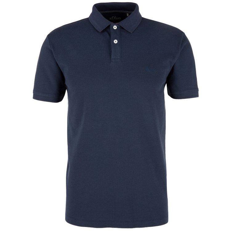 Poloshirt große Größen, dunkelblau