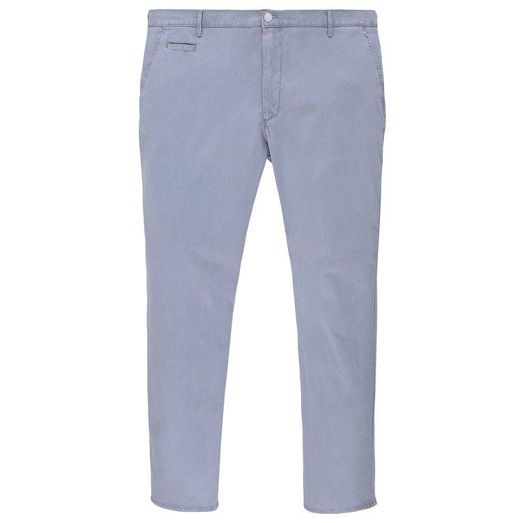 Pionier Chino Hose mit leichter Struktur - blau