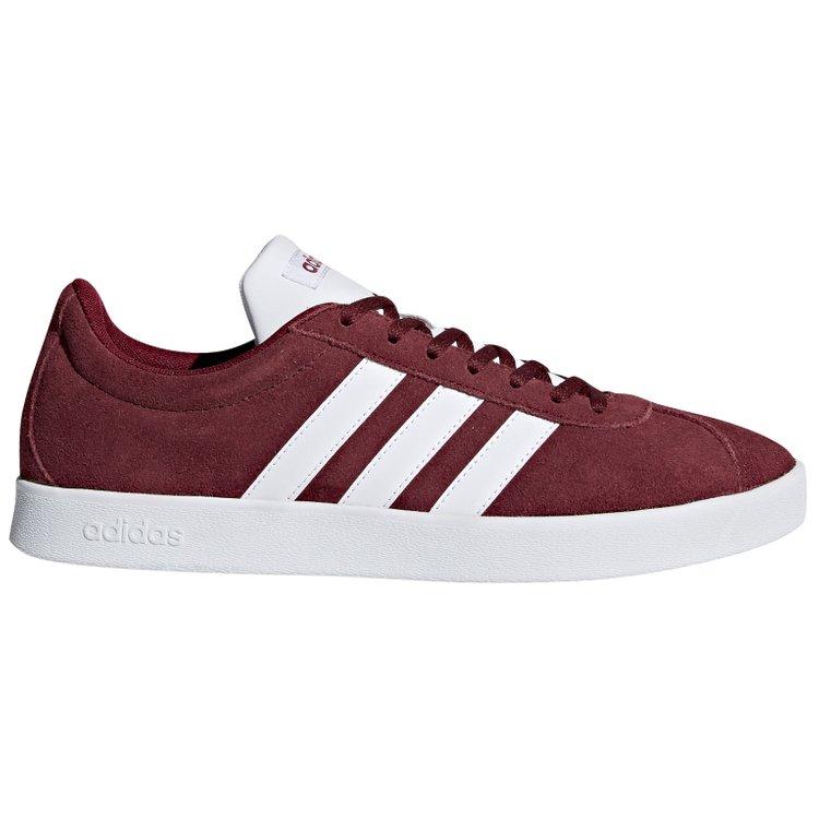 adidas Sneaker in Übergröße - VL Court 2.0 - rot
