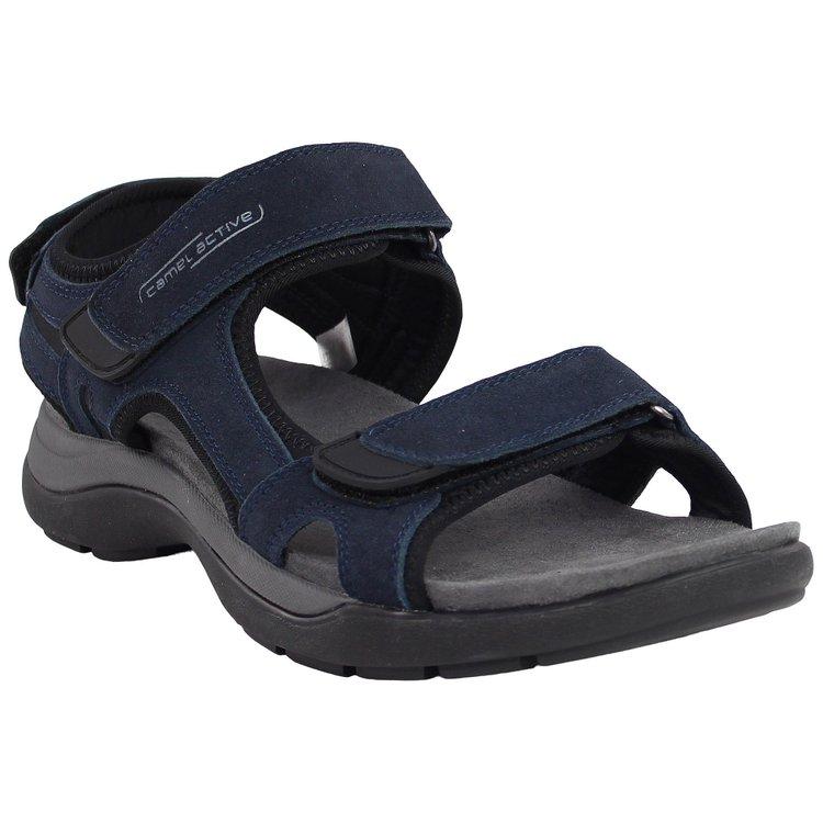 Sandale Übergröße, blau