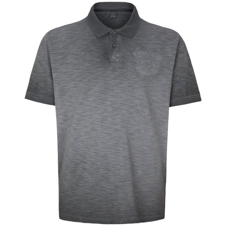 Poloshirt Übergröße, grau