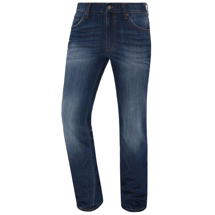 Mustang Herren Jeans extra lang, Tramper - blau