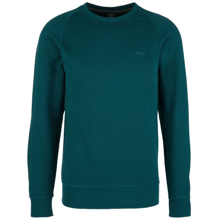 s.Oliver Sweatshirt extra lang - petrol