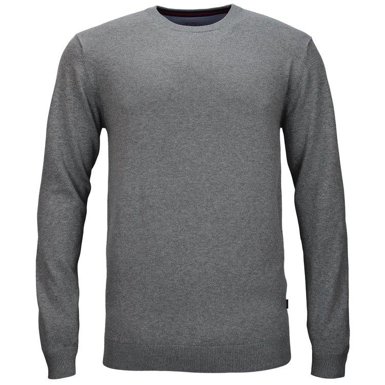Pullover Überlänge, grau