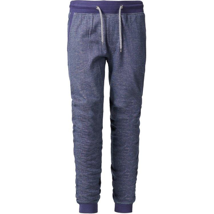 Jogginghose extra lange Beine, blau melange