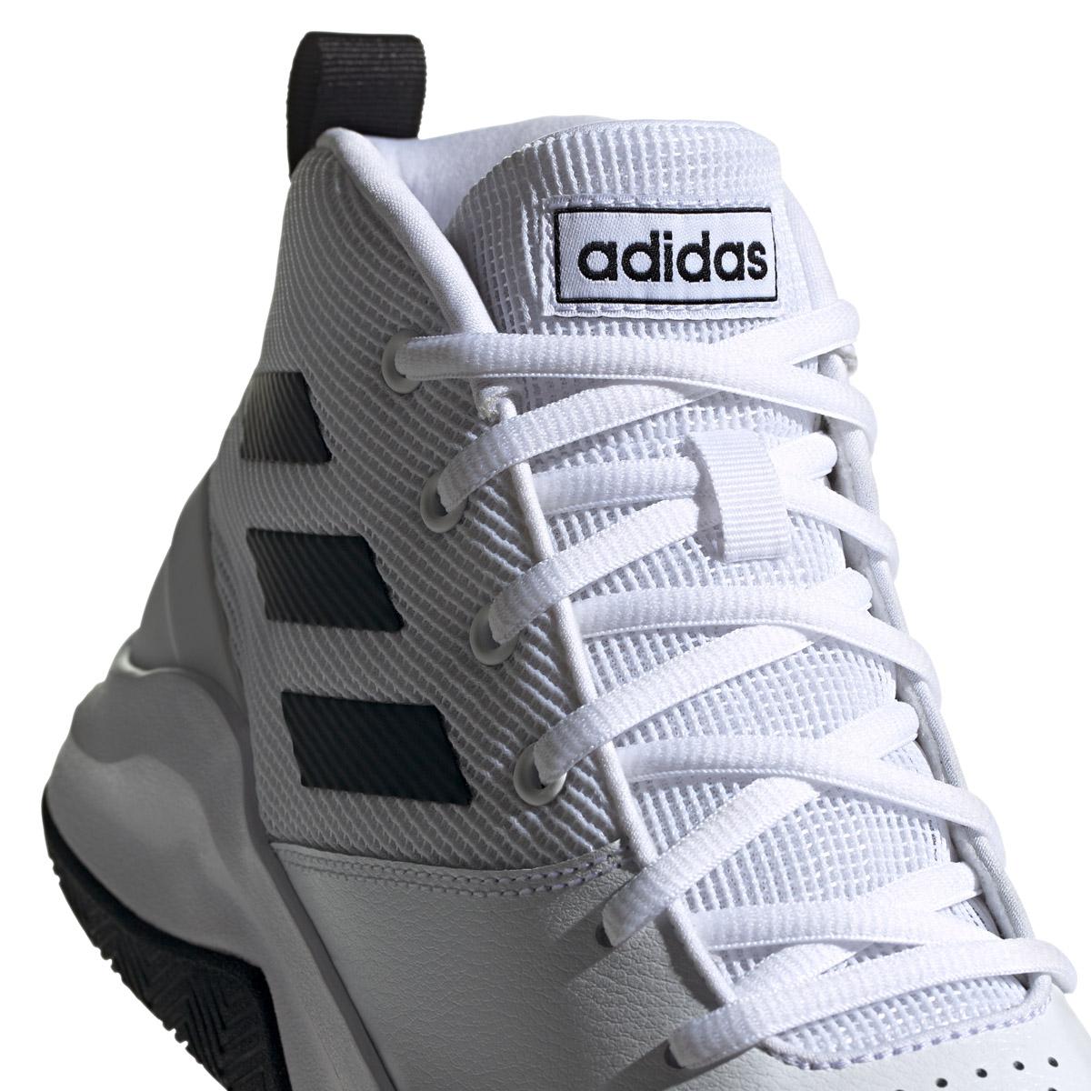 adidas Basketballschuh in Übergröße, Own The Game, weiß