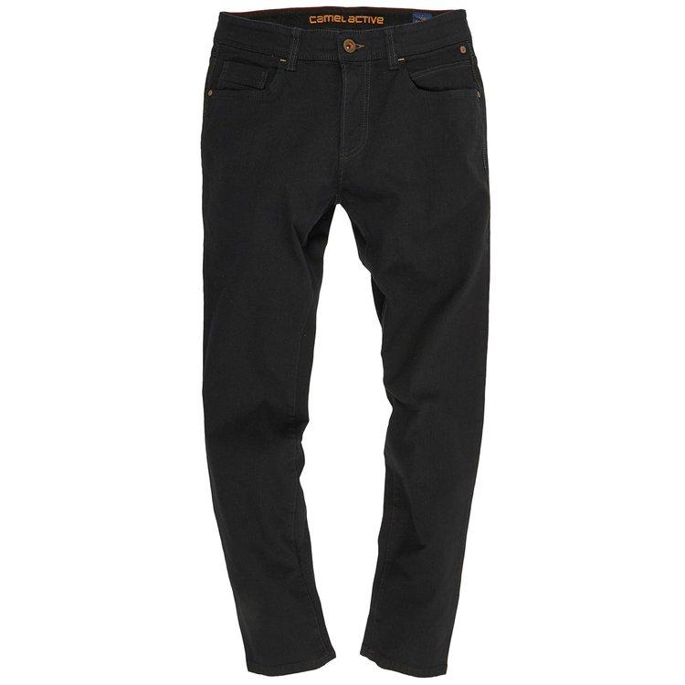 Jeans in Überlänge Herren, schwarz