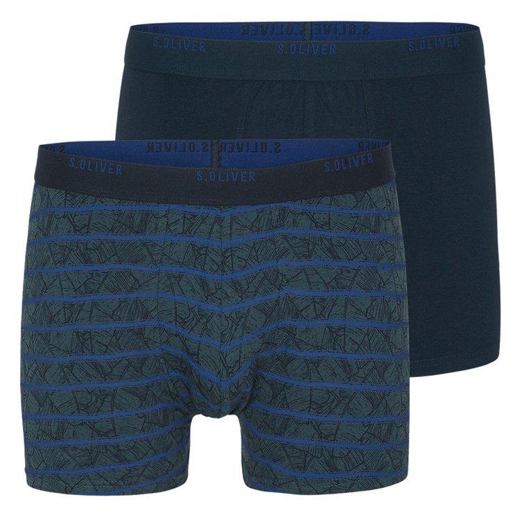 Boxershorts Übergrößen, blau