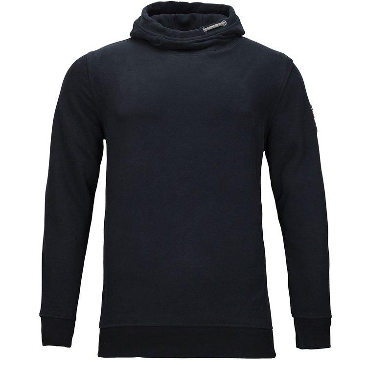 Sweatshirt extra langer Arm, schwarz