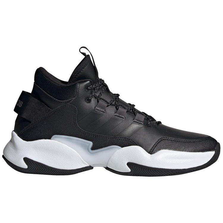 Basketballschuhe Übergröße, schwarz