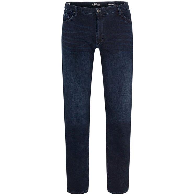 Herren Jeans 38er Länge, dunkelblau