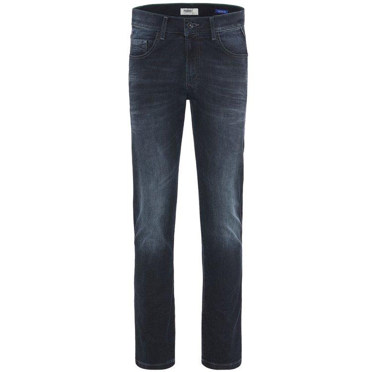 Jeans Überlänge Herren, dunkelblau