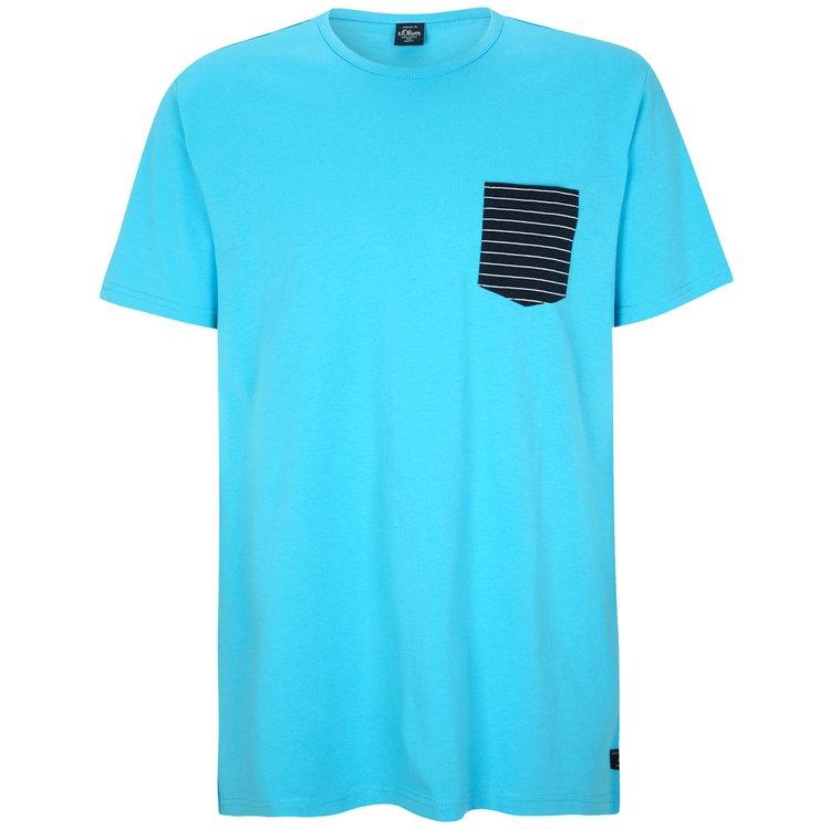 s.Oliver T-Shirt Überlänge, türkis