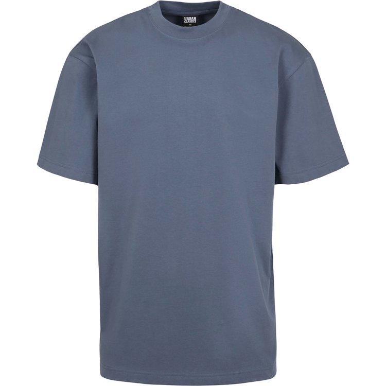 T-Shirts extra lang, vintageblue