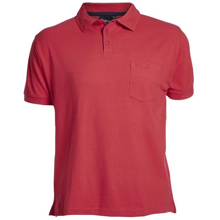 Poloshirt in Übergröße, rot