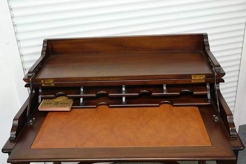 Schreibtisch Computertisch Sekretär aus Massivholz englischer Stil (1051) – Bild 5