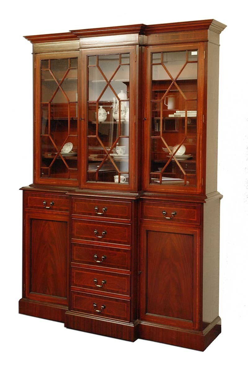 buffet schrank b cherschrank mahagoni im englischen stil wie antik 1324 m bel schr nke. Black Bedroom Furniture Sets. Home Design Ideas