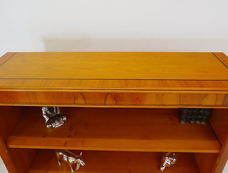 Regal Bücherregal Büro Eibe B: 120 cm Antik Stil DIN A4 Ordner (1465) – Bild 3