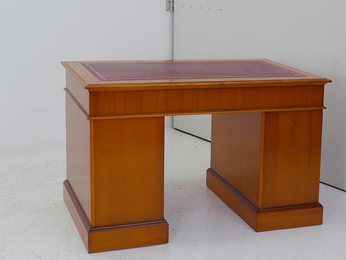 Schreibtisch Bürotisch Büromöbel Eibe/ Kirsche im englischen Stil ...