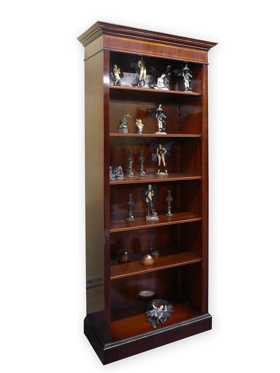 b cherregal regal mahagoni f r din a4 ordner schrank b cherschrank din a4 355 regale. Black Bedroom Furniture Sets. Home Design Ideas