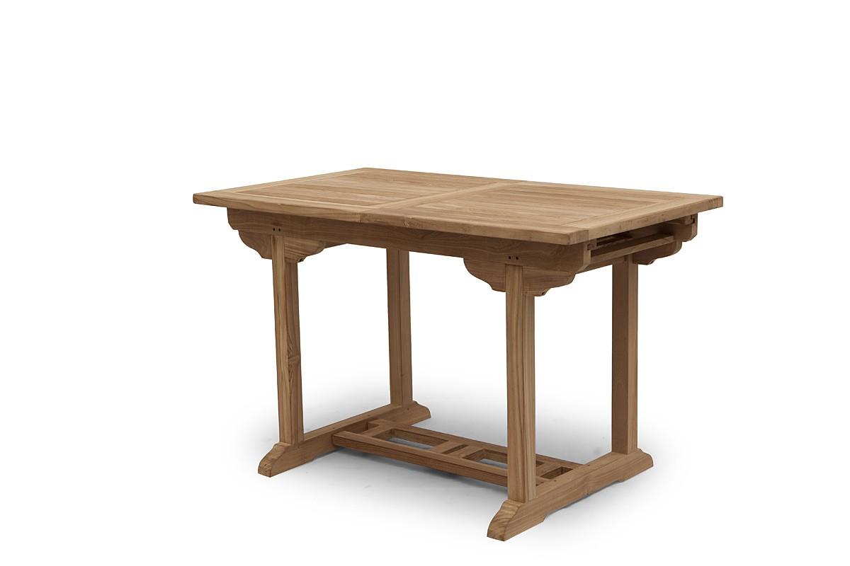 Gartentisch Tisch Gartenmobel Aus Massiven Teakholz Ausziehbar 150