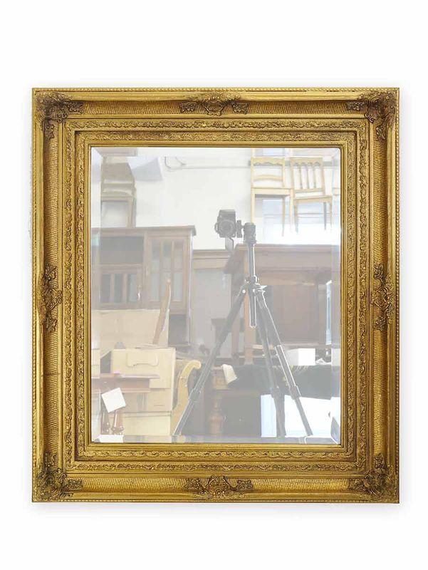 Spiegel Wandspiegel Garderobenspiegel im Antiken Stil goldfarbig (3681) – Bild 1
