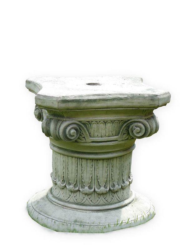 Säule Podest mit korinthischem Kapitell aus Beton (3755) – Bild 1