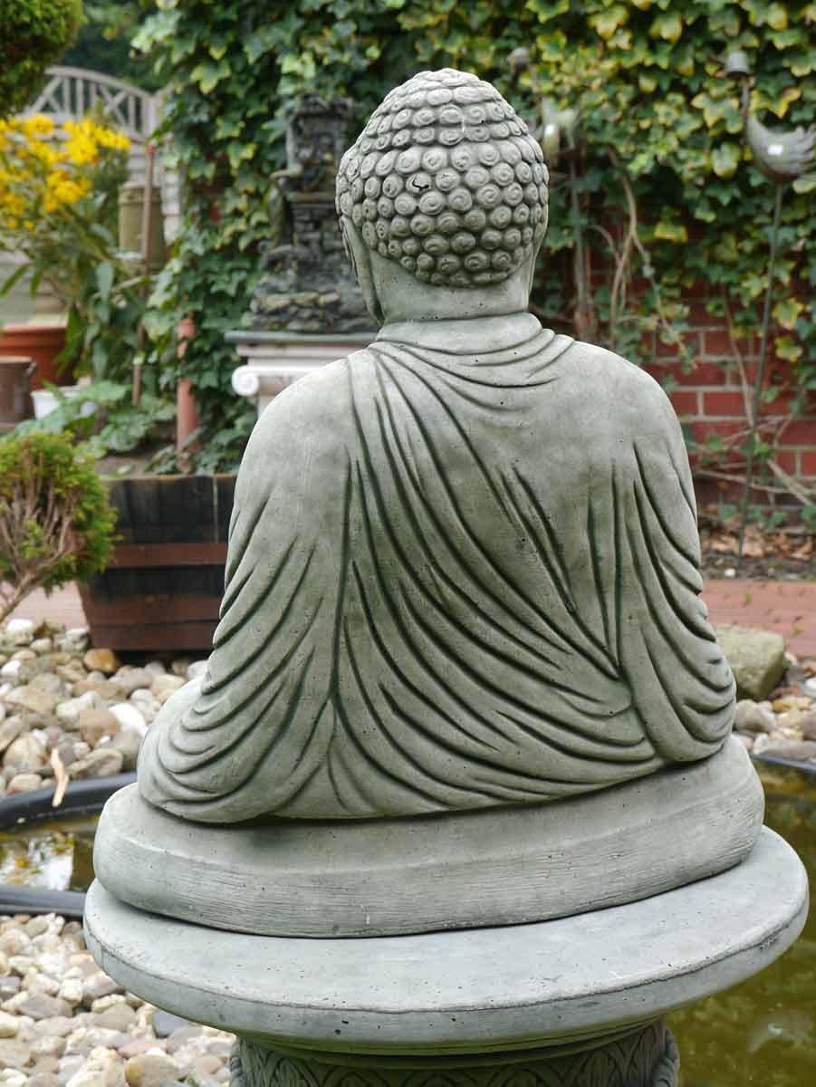 buddha figur statue f r haus und garten aus beton figuren menschenfiguren. Black Bedroom Furniture Sets. Home Design Ideas