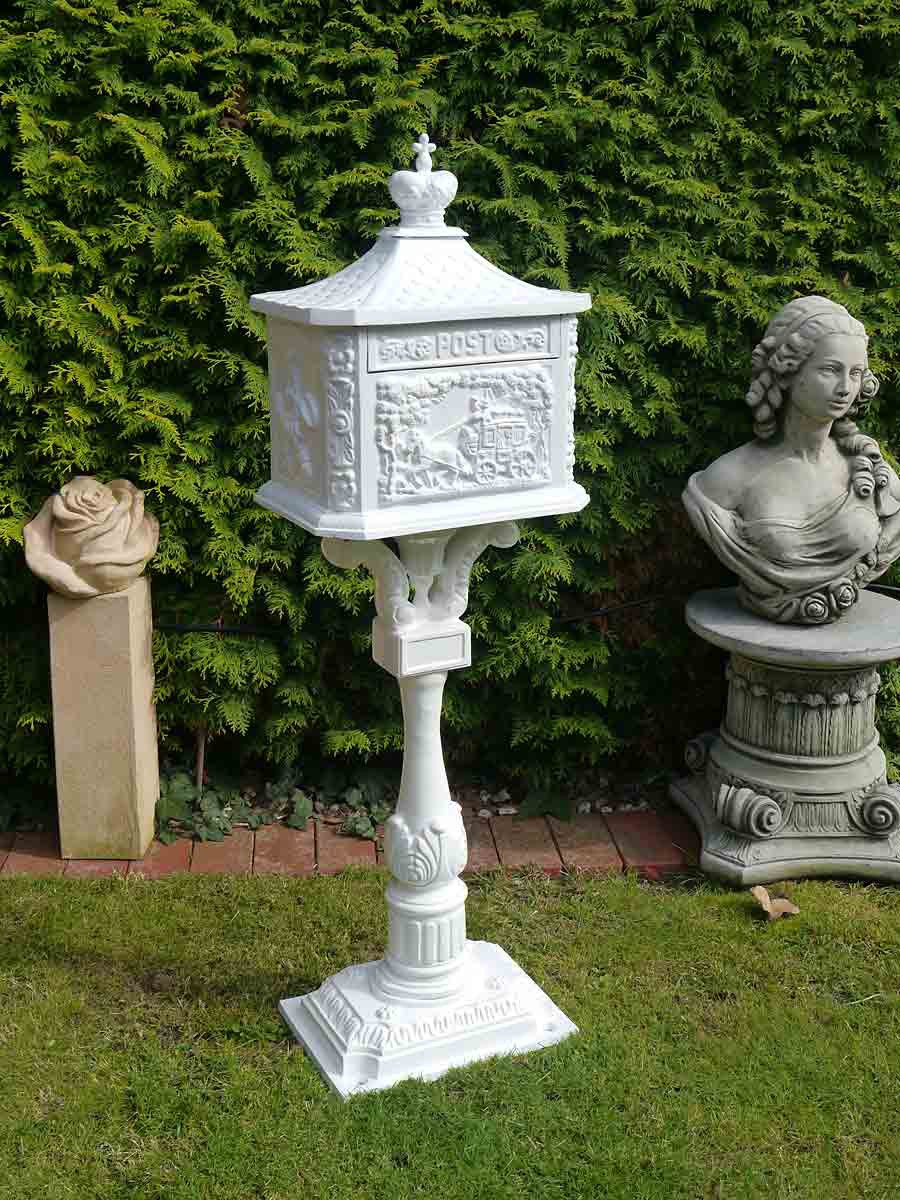 Briefkasten Postkasten Standbriefkasten Letterbox Englischer Stil