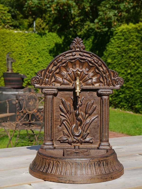 Brunnen Standbrunnen Nostalgischer Stil aus Gusseisen (3910) – Bild 1