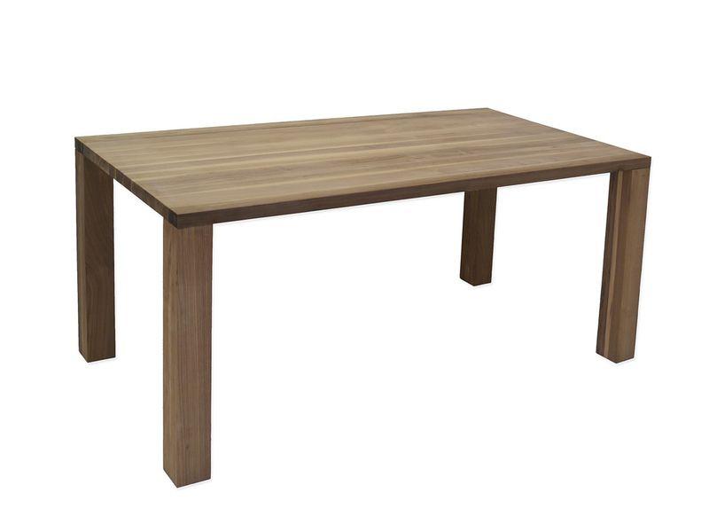 Esstisch Tisch Esszimmertisch Nussbaum massiv PLatz für 8 Personen (4182) – Bild 1