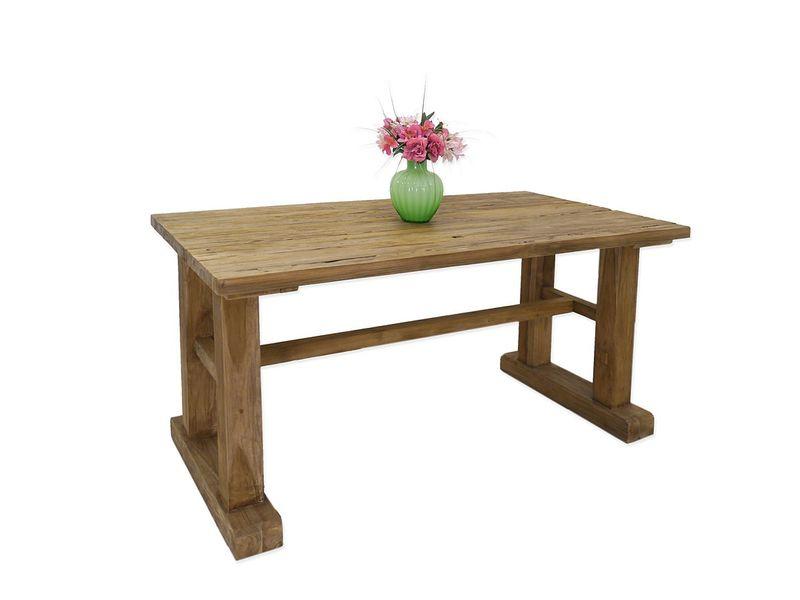 Tisch Esstisch Esszimmertisch Massivholz 4-8 Personen 80x160x90 cm (4497) – Bild 1