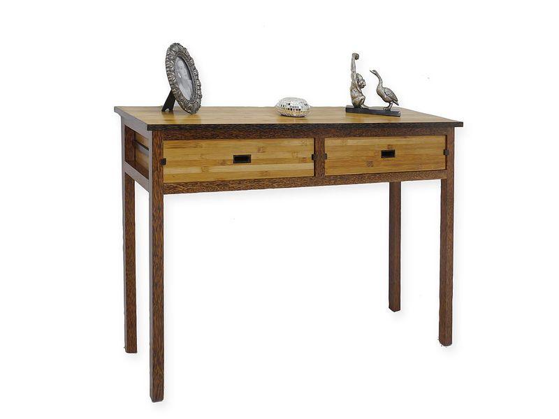 Wandtisch  Konsole Konsolentisch im rustikalen Stil aus Holz (4564) – Bild 1