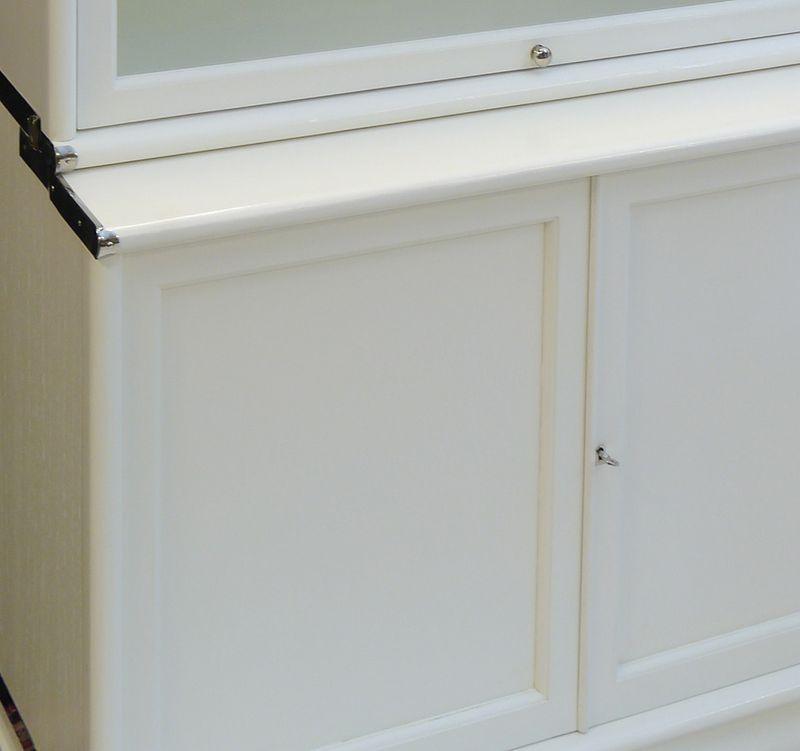 Eckteil Book-Connecting-Filebinder linke Seite mit Holzfront – Bild 6