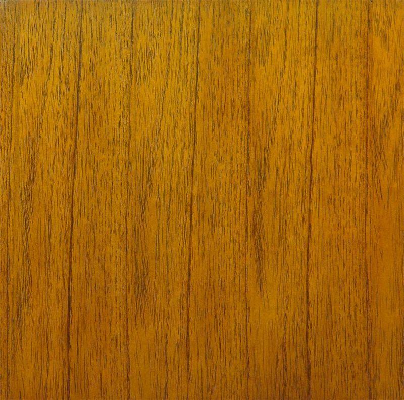 Konferenzstuhl / Armlehnstuhl aus Mahagoni mit braunem Leder (4807) – Bild 2