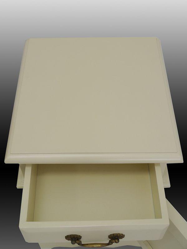 Nachtkonsole Kommode Nachtschrank Nachttisch Antik Stil Massivholz B 40cm (5030) – Bild 2