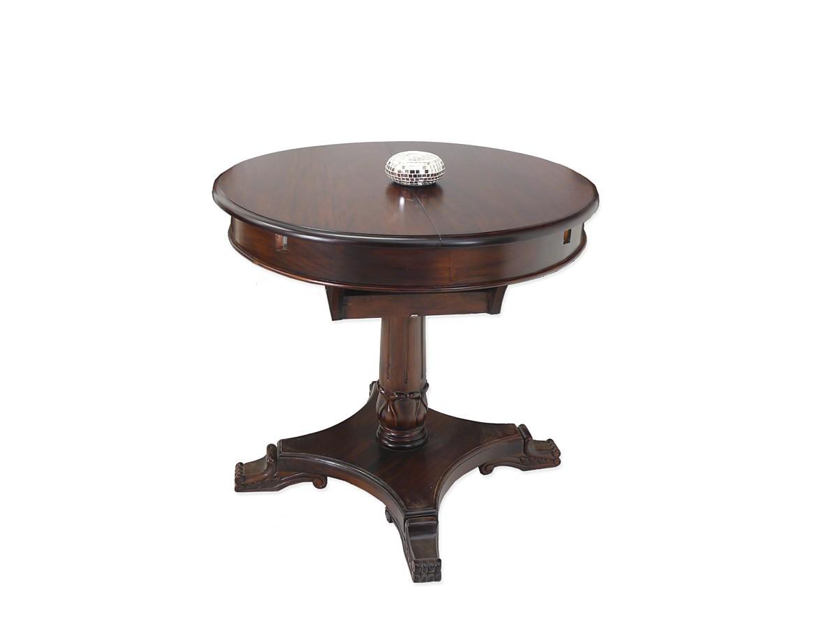 Esstisch massiv ausziehbar antik  Tisch Esstisch Kaffeetisch Antik Stil Massivholz Nussbaum ausziehbar ...